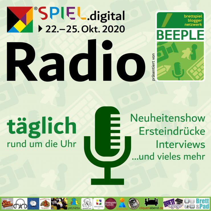 beeple SPIEL.digital Radio